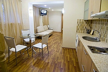 Apartment Anna kitchen  - odessa ukraine apartments