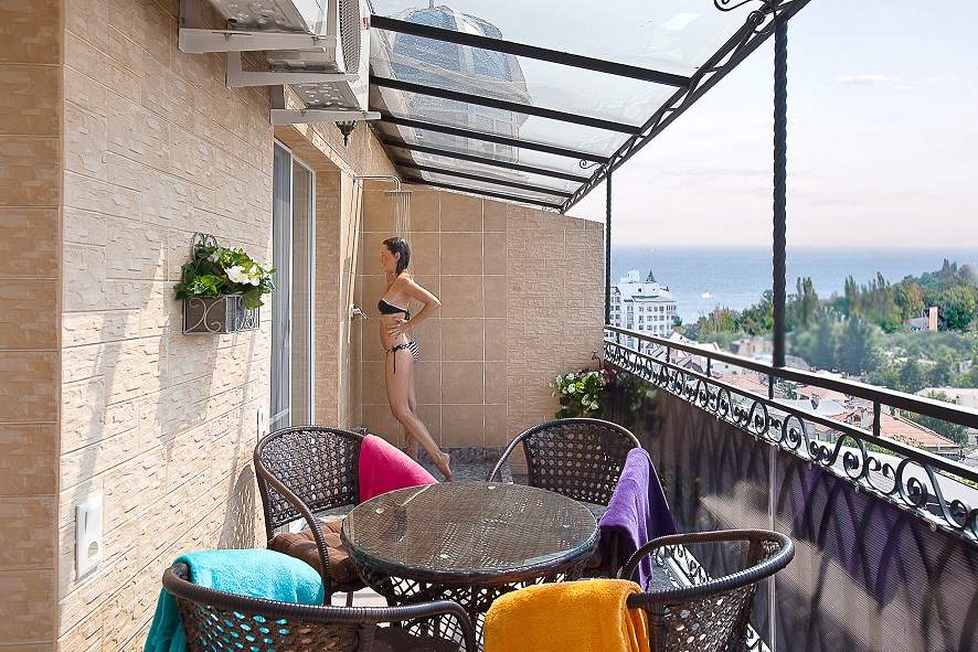 Delicieux ... Apartment 3002 (Madonna) First Bedroom Balcony   Odessa Apartments ...